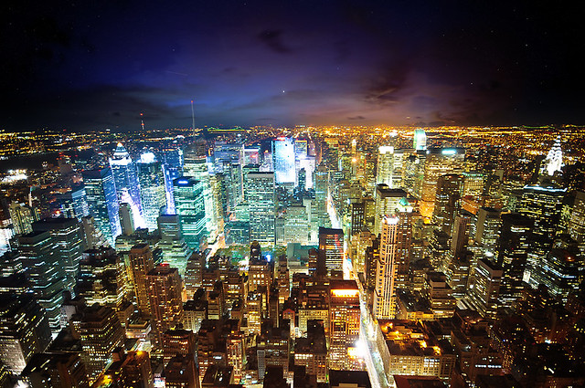 ... New York   The City Of Lights   By Dominic Kamp Pictures