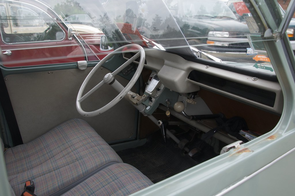 2cv Interior Citroën 2cv Interior | by