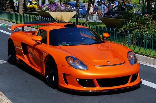 New Porsche >> Porsche Gemballa Mirage GT in Monaco   A orange Porsche Gemb…   Flickr