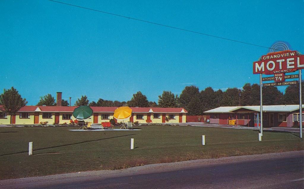 Grandview Motel Boise Idaho Highway 20 And 30 East