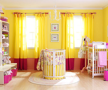 Yellow Pink Nursery