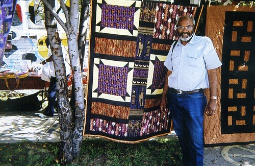 Abayomi Azikiwe, editor of the Pan-African News Wire, at the Detroit Bead Museum on the west side during September 2008. (Photo: Omorose) | by Pan-African News Wire File Photos