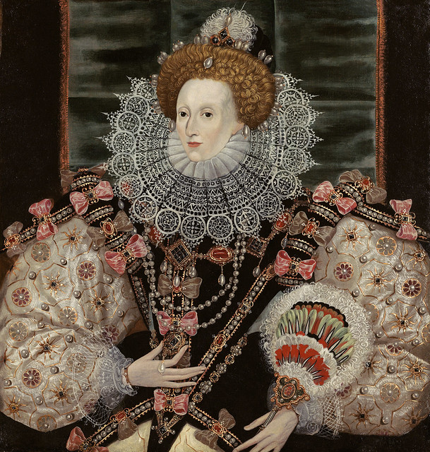 Portrait of Elizabeth I (1533 - 1603) The Armada Portrait 1600c.