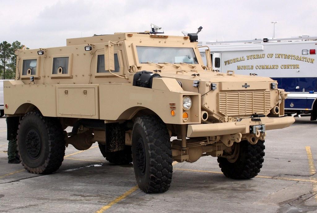 U S Federal Bureau Of Investigation Fbi Swat Armored Ve