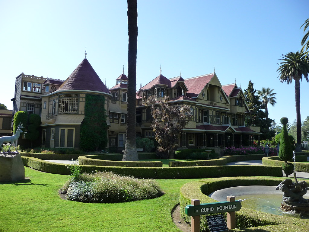 World Death Clock >> Sarah Winchester's mystery house | www.winchestermysteryhous… | Flickr