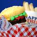 Thick Brownie Burger Cupcake