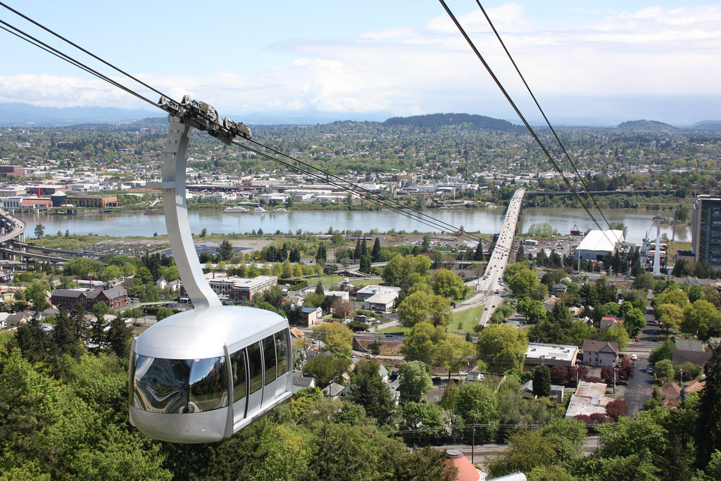 View from the portland aerial tram amy o 39 brien flickr - Camera world portland ...