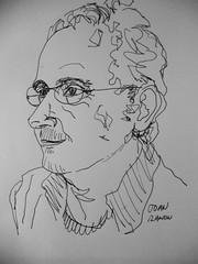Juan Ramon today at Caixa Forum Barcelona. by Arturo Espinosa