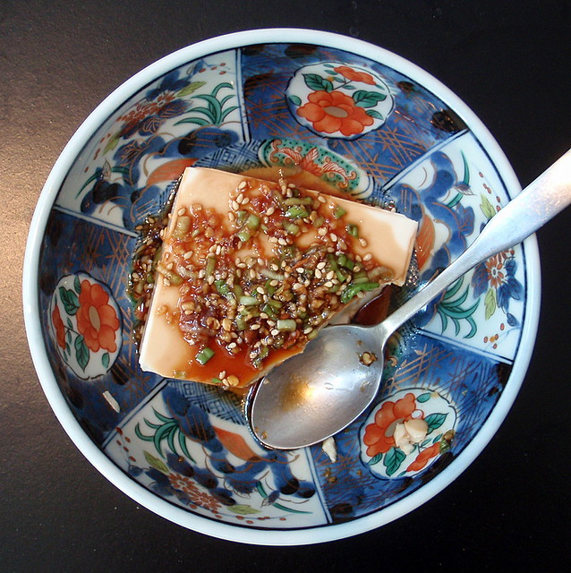 Warm Tofu with Spicy Garlic Sauce | the-cooking-of-joy.blogs ...