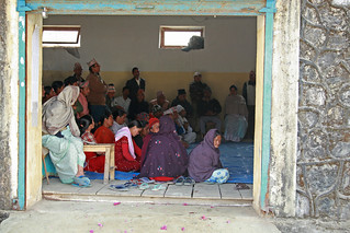 Community at discussion of water supply and sanitation | by World Bank Photo Collection