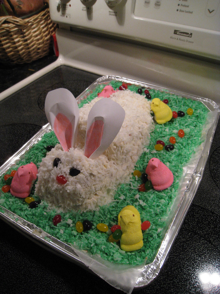Easter Bunny Cake 1 18 Ounce Package Betty Crocker