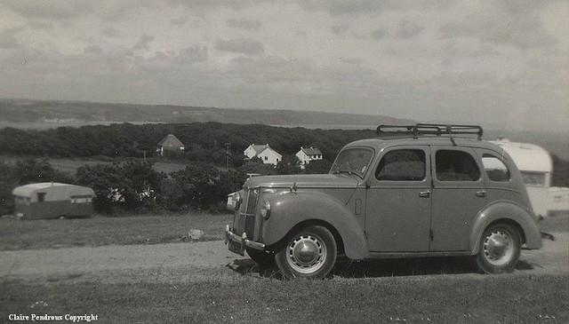 Saundersfoot caravan site pembrokeshire june 1963 and s flickr - Ford garage wolverhampton ...