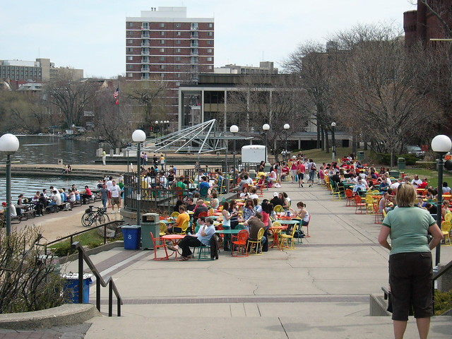Memorial union terrace madison wi flickr photo sharing for Madison terrace