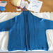 Blue cardi all done!