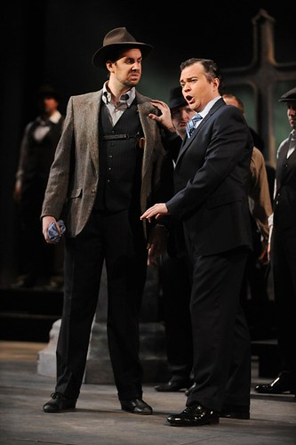 Enrico and his right-hand man Normanno | by Opera Cleveland