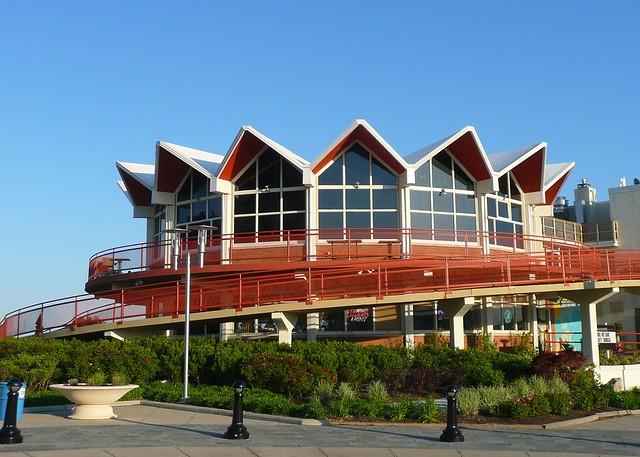 Asbury park nj old howard johnson 39 s restaurant flickr for Johnson s farm nj