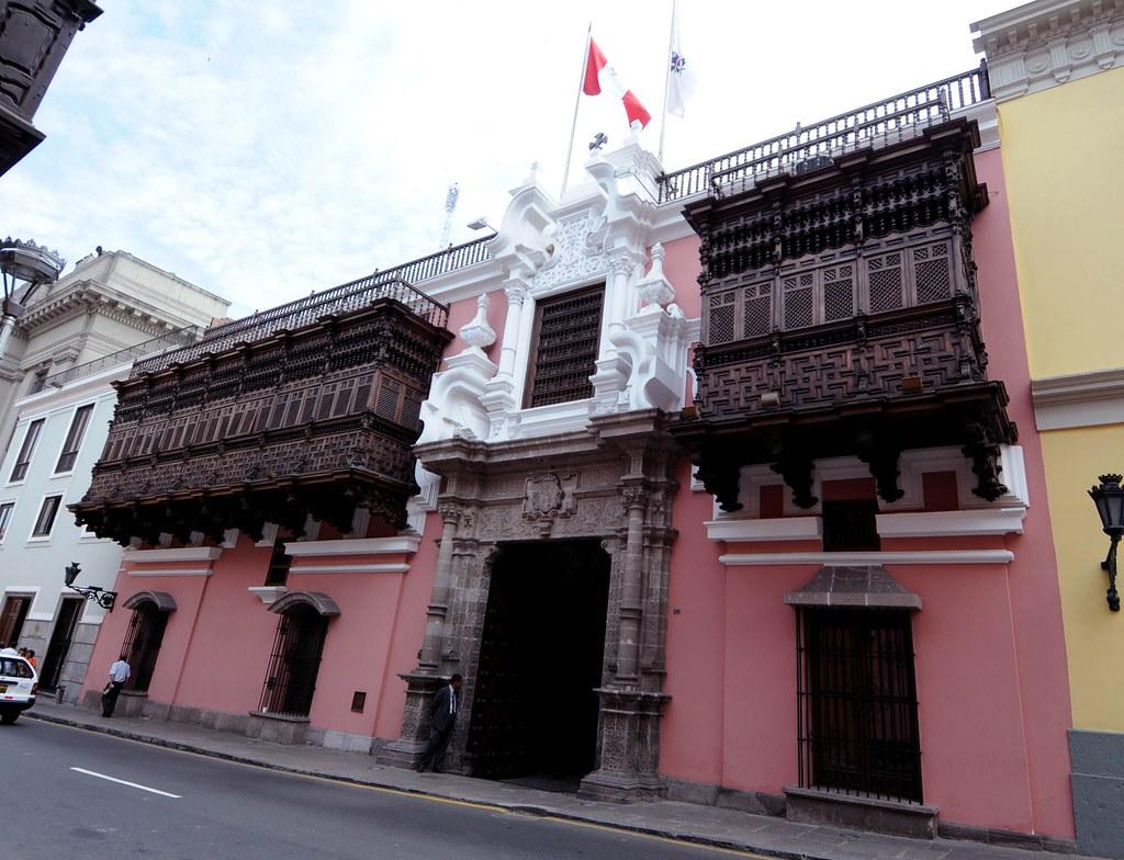 Palacio De Torre Tagle Sede De La Canciller A El Palacio Flickr