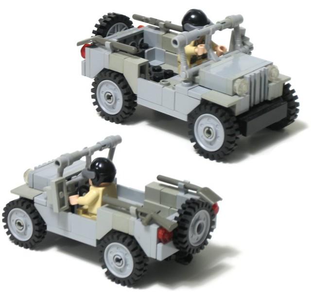 Lego Ww2 Willys Jeep Instructionslego Ww2 Willys Jeep 01 Flickr