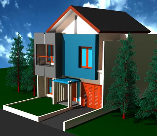 Desain Rumah Minimalis di Citra Grand Desain rumah