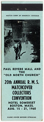 20th Annual R.M.S. Matchcover Collectors Convention [Exterior]