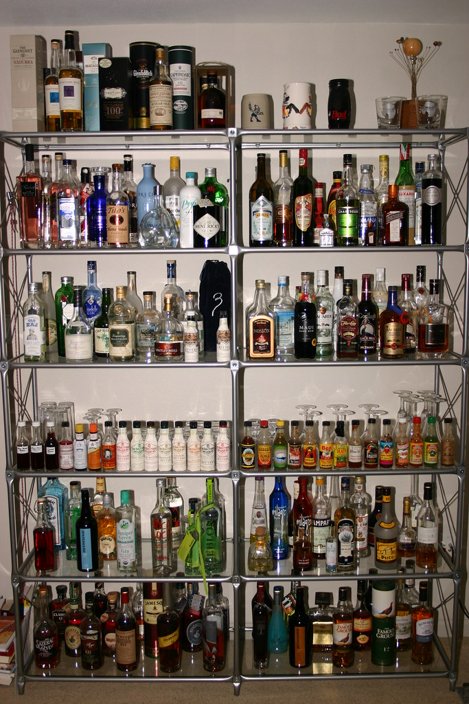 the collection 20090531 my liquor quot cabinet quot as of