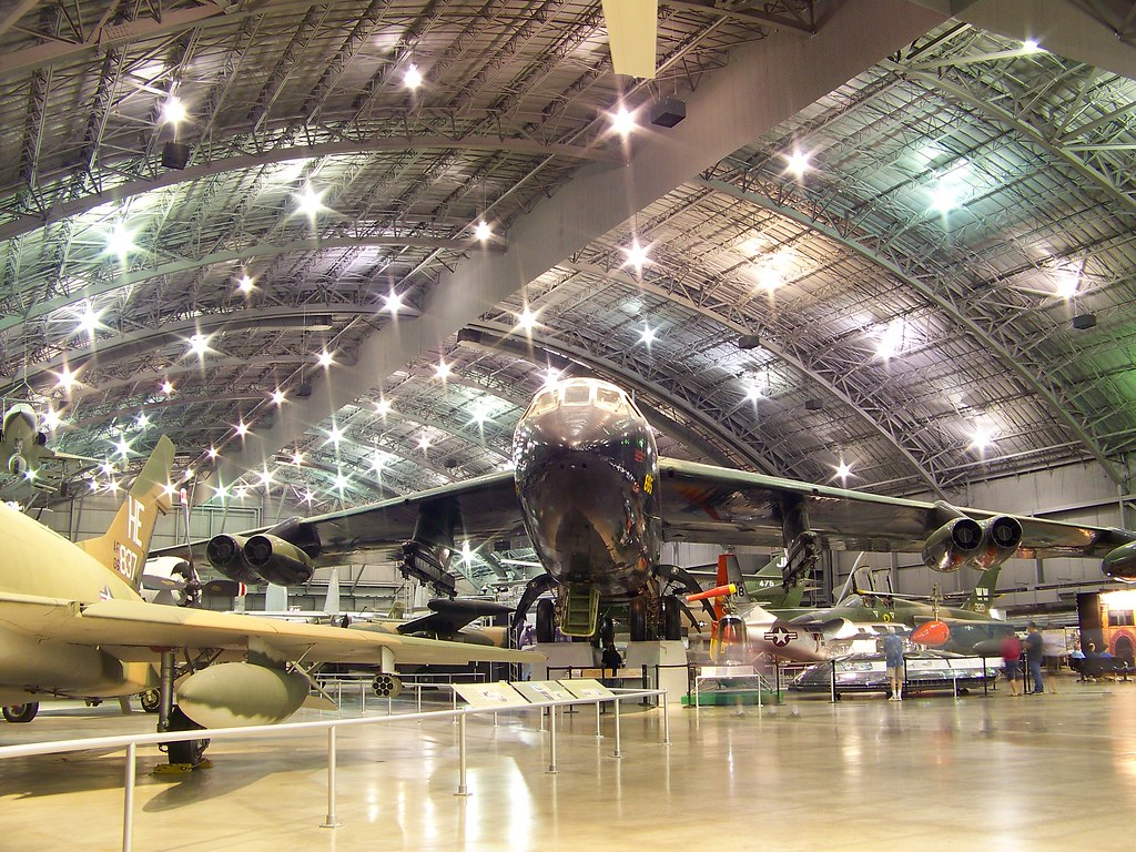 b 52 wright patterson us air force museum dayton oh flickr. Black Bedroom Furniture Sets. Home Design Ideas