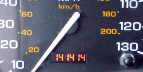 Cool odometer reading | by kafski