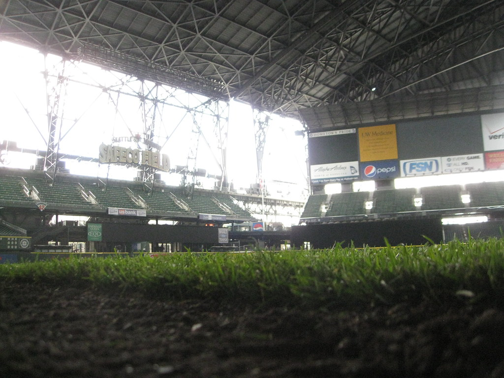 Inside Safeco Field in Seattle, WA where the Mariners play ...