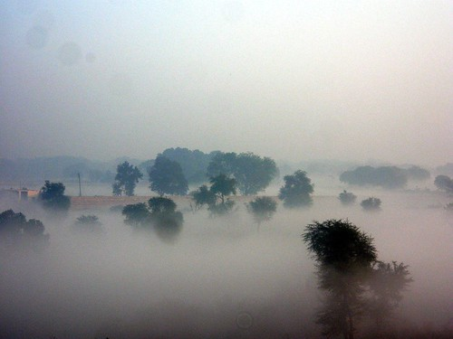 Indian Landscape Under The Fog | by GODOIRUM BASSANENSIS