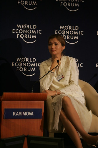 Gulnora I. Karimova - World Economic Forum on the Middle East 2009 | by World Economic Forum