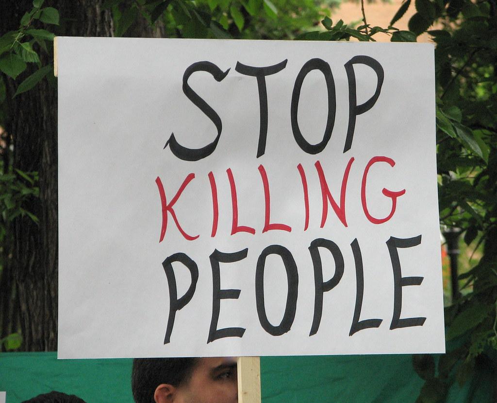 Stop Killing People | The Calgary Iranian communities held ...