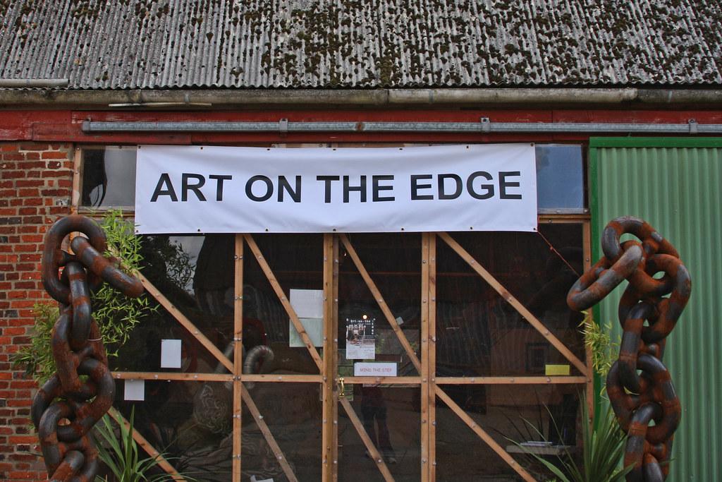 Art On The Edge Entrance Art On The Edge An Exciting