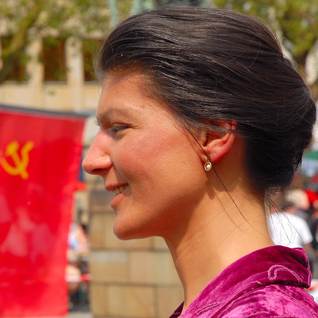 Sahra Wagenknecht Werner Schnell Flickr