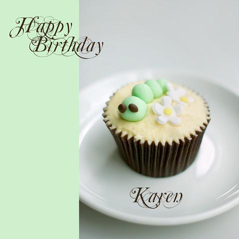 Happy Birthday Cake Karen