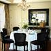 Custom Craftsman Orange County Interior Design Dining Room