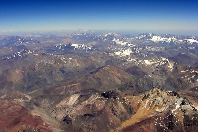Andes | A Cordilheira dos Andes (em língua quechua: Anti(s