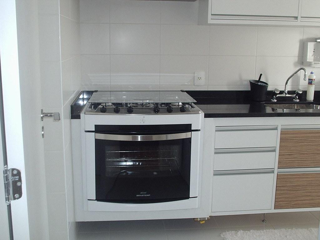 Adesivo De Alto Impacto Para Que Serve ~ Vista cozinha nicho de fog u00e3o de embutir Miro Armario Sob