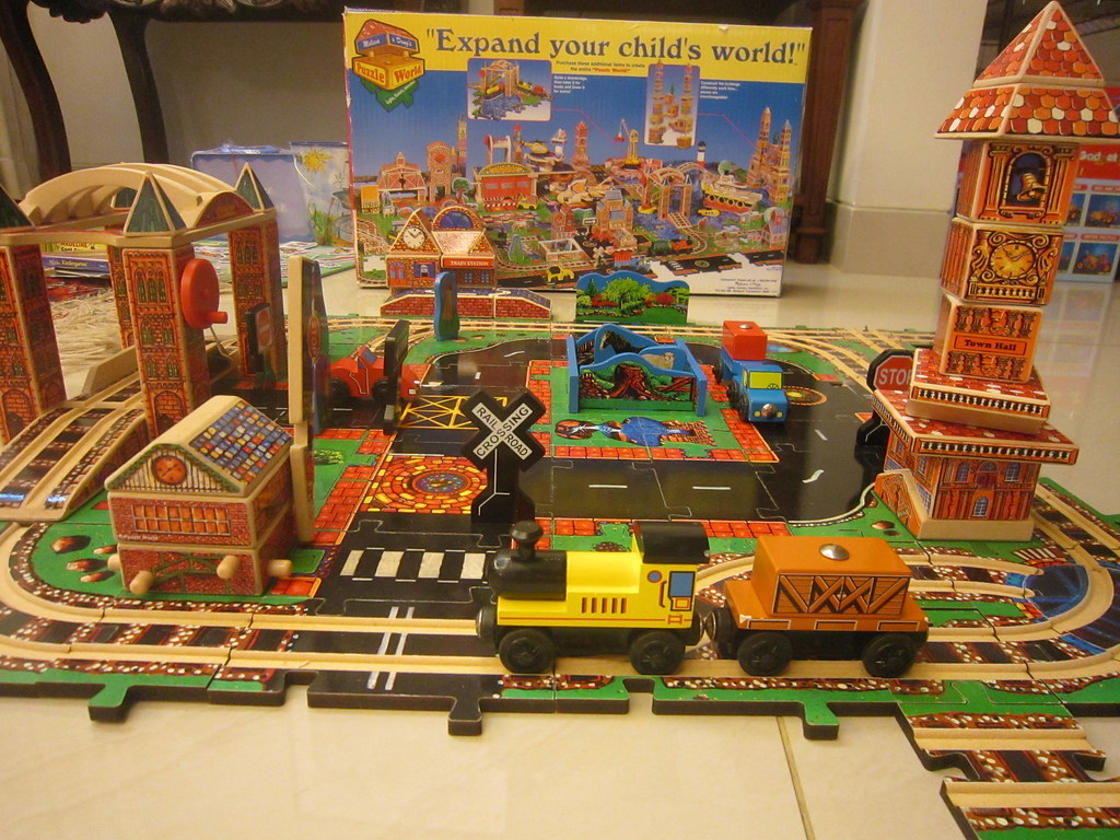 Melissa And Doug 110 Piece Quot Big City Adventure Quot Set Wooden