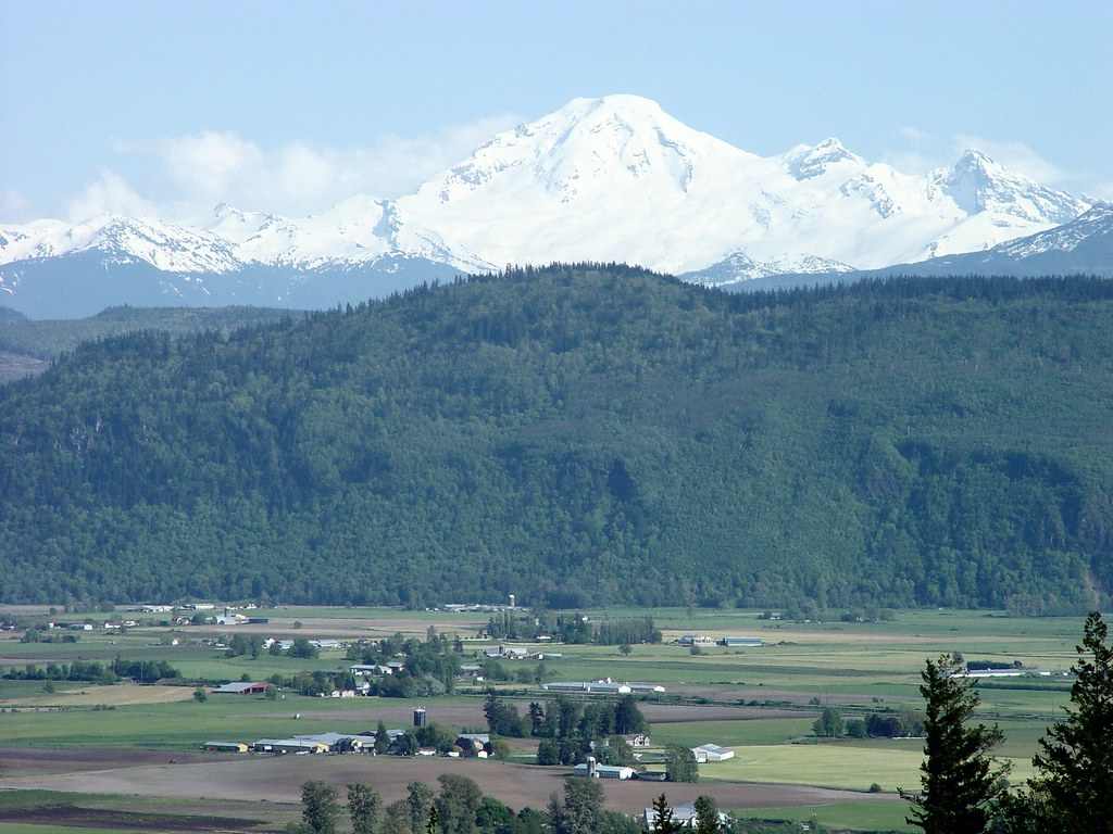 Mount Baker Abbotsford Bc View After Being Told By Our