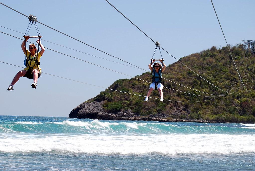 Dragon S Flight Zipline 4 000 Ft Long Zip Line Labadee H Flickr