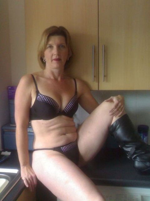 57 year old amateur english teacher miss lang 4