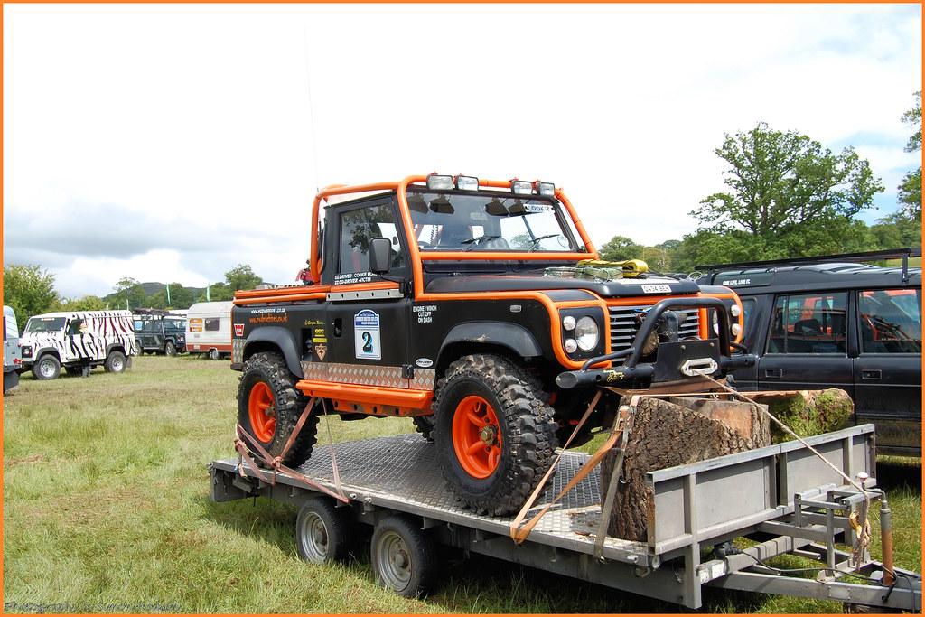 Land Rover Defender 90 Pick Up Si Flickr