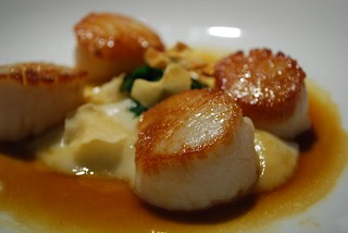 Scallops entree - Guillaume at Bennelong | by avlxyz