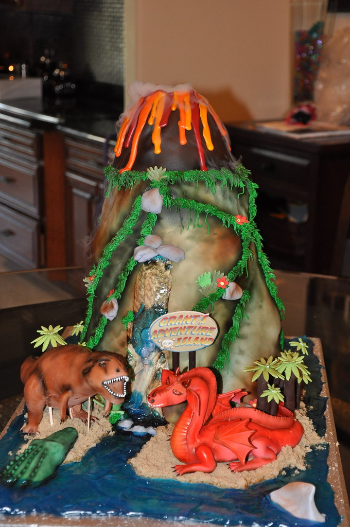 Treasure Island Birthday Cake This Cake Was Over The Top