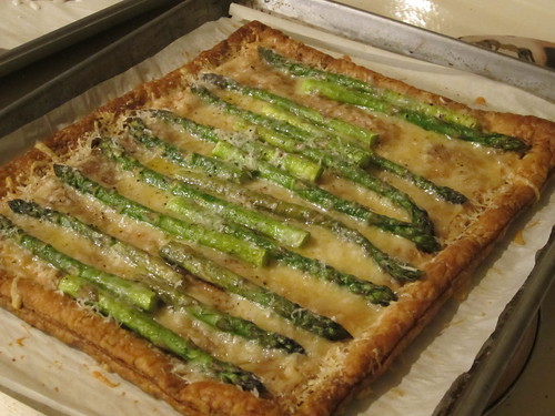 asparagus tart | by Madison Bistro