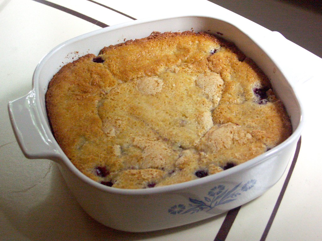 Easy Blackberry Cobbler Recipe With Yellow Cake Mix