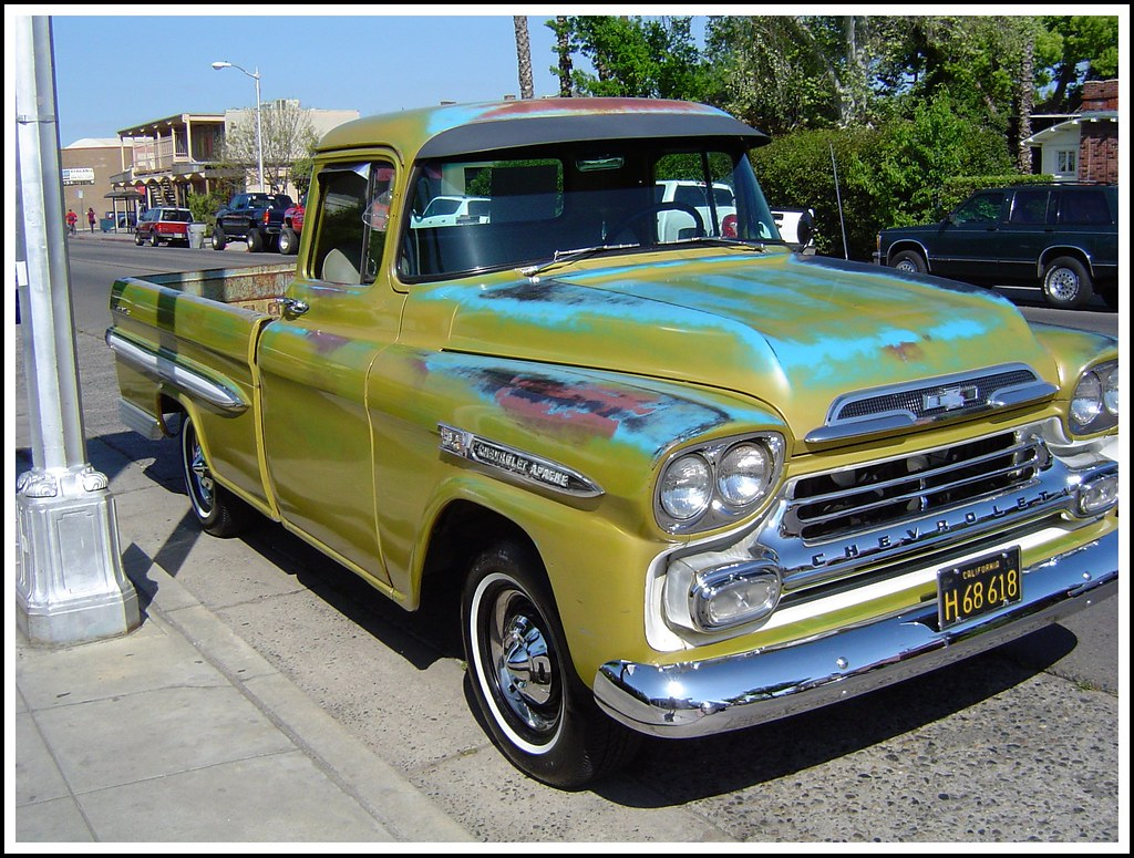 1959 chevy apache this truck was for sale bob the real deal flickr. Black Bedroom Furniture Sets. Home Design Ideas