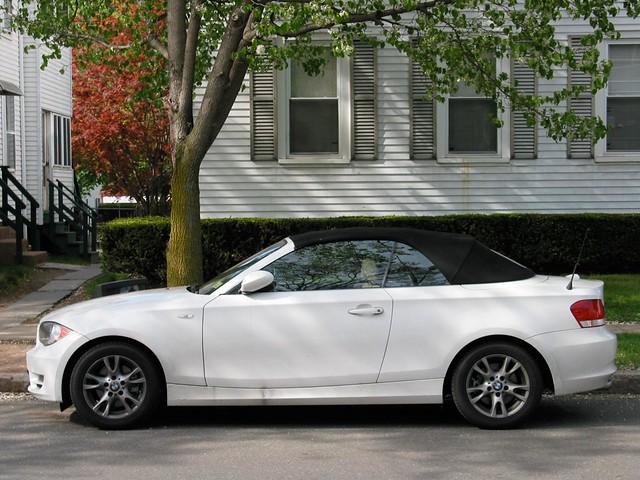 Bmw 128i convertible white