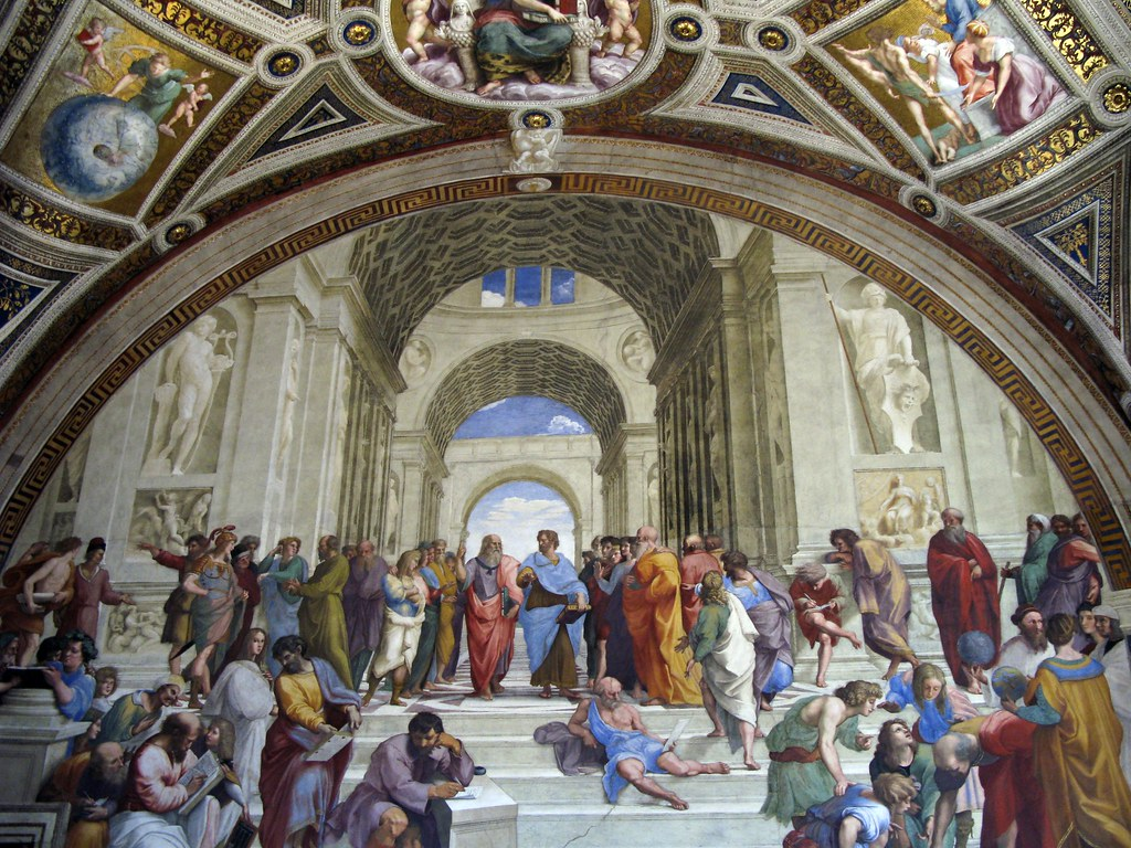 The School of Athens — Raphael   From the Room of the ...