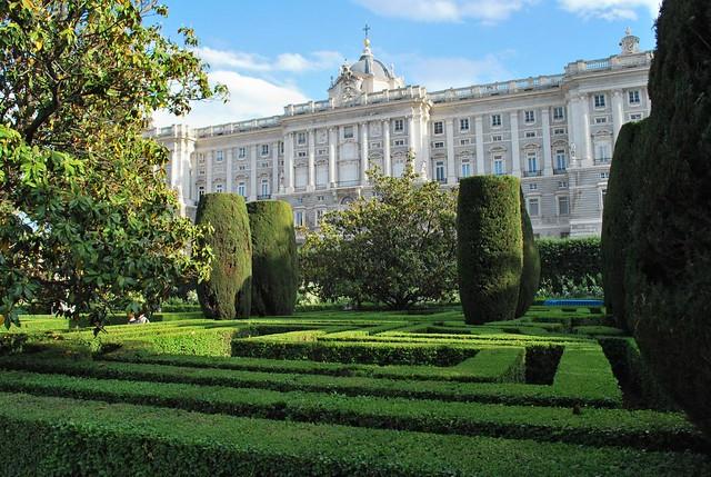 palacio real y jardines de sabatini jardines de sabatini
